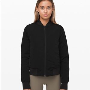 Lululemon reversible bomber jacket